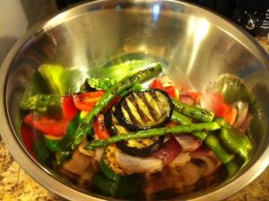 Grilled Veg Salad 2