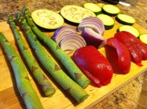 Grilled Veg Salad 4