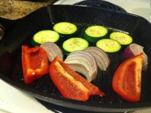 Grilled Veg Salad 5