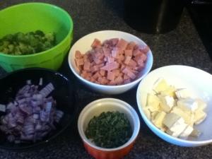 Ham & Brocolli Quiche (2)