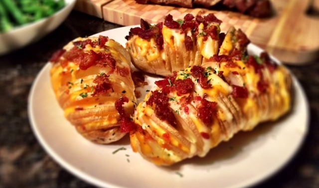 Hasselback Potatoes 2