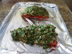 Herb-Crusted Salmon (3)