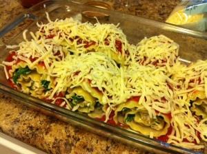 Lasagna Roll ups 10