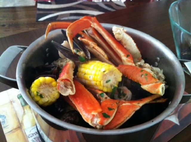 Crab and Seafood Boil